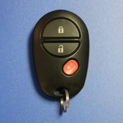 Toyota keyfob 112